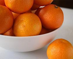 Как вывести пятно от мандарина?