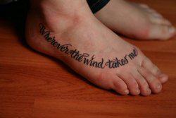 Как выбрать шрифт для татуировки