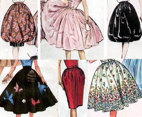 Выбираем ткань для юбки