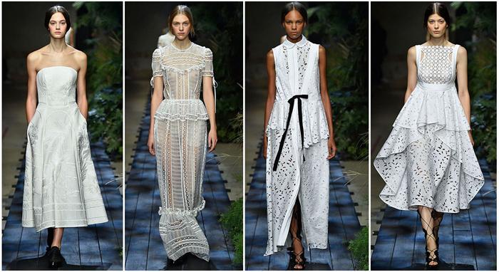 Платья от известного бренда Erdem
