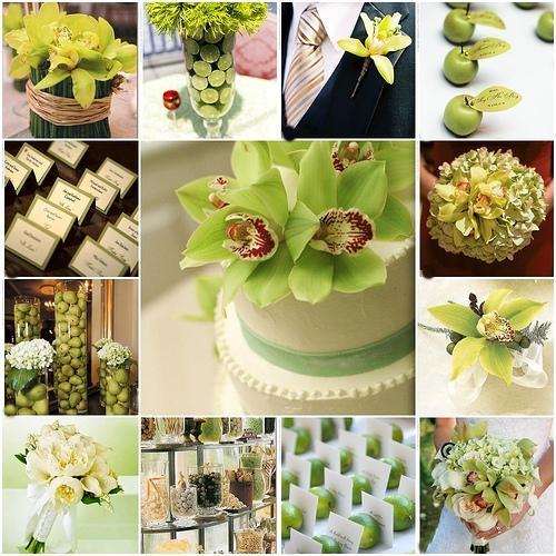 Подбираем цвет для свадьбы