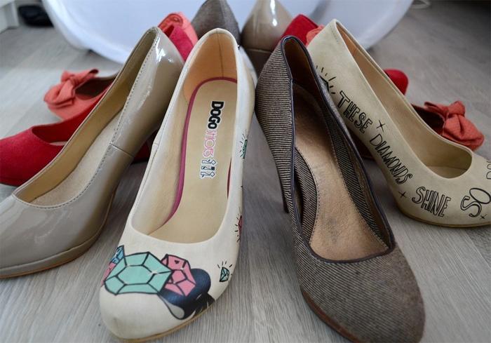 Стильная обувь с принтом от DOGO