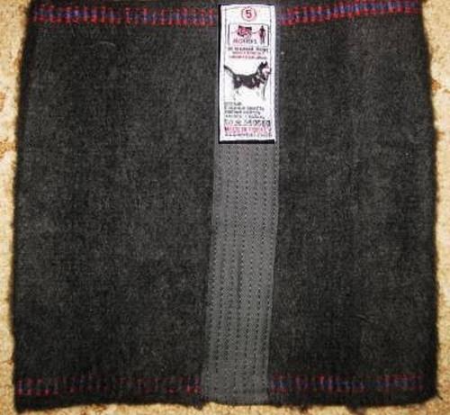 Пояс, изготовленный из собачьей шерсти
