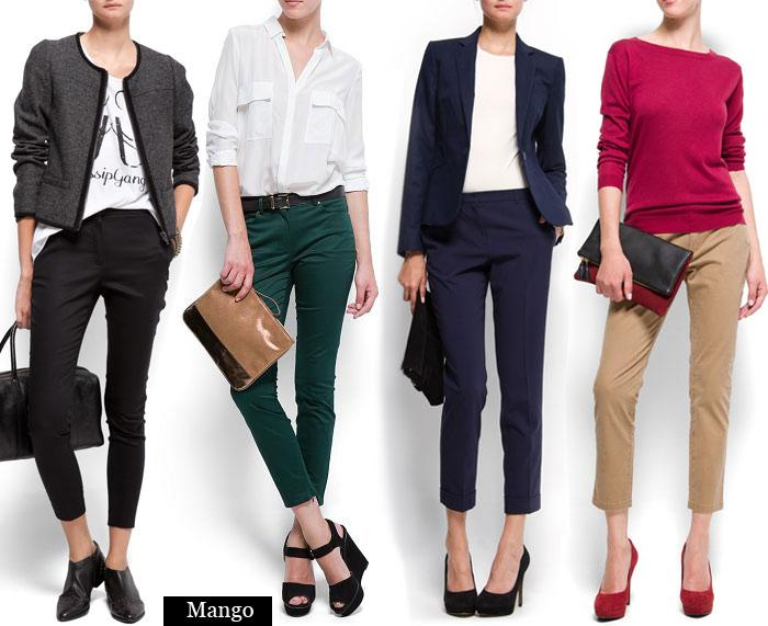 Выбираем укороченные брюки
