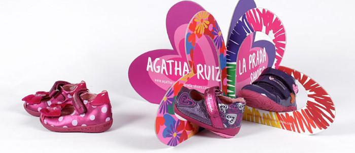Детска обувь от Agatha ruiz de la prada