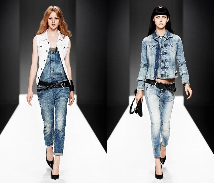 Выбираем женский джинсовый костюм