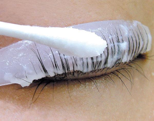 Химическая завивка ресниц