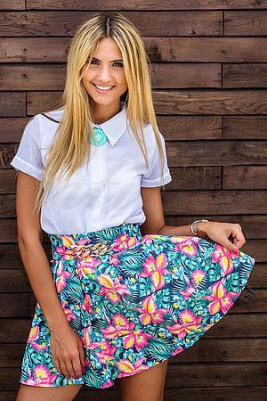 Модные идеи 2015: с чем носить юбку