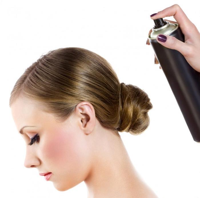 Выбираем лак для волос