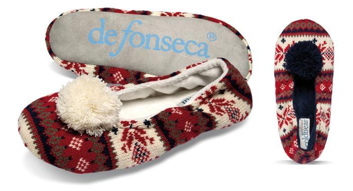 De Fonseca - тапочки для всех