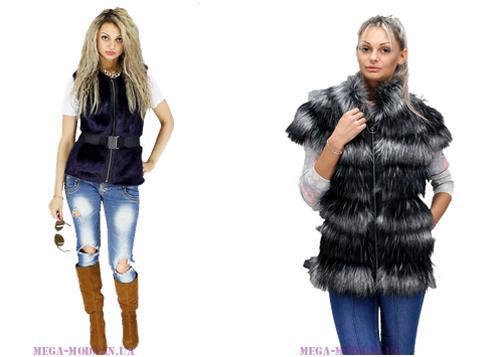 Зимняя мода 2015-2016 на шубы из ЭКО-меха!