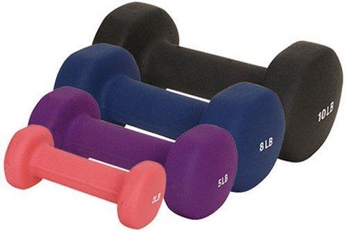 Выбираем гантели для фитнеса