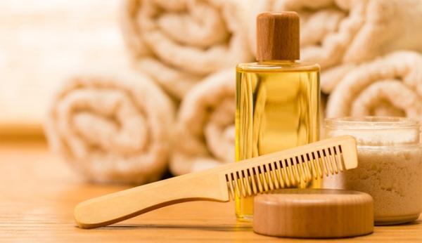 Репейное масло для волос и ресниц