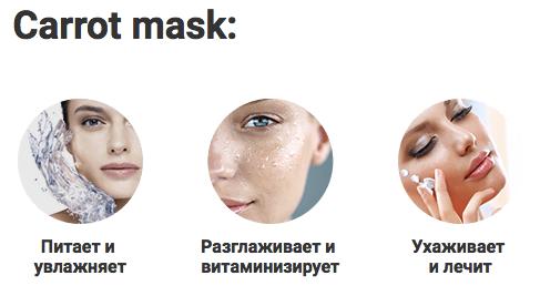 Carrot mask