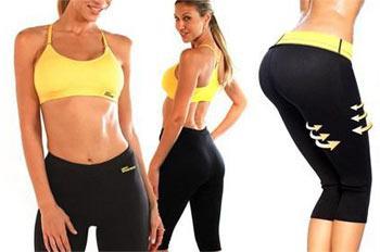 Как сидят шорты для похудения: вид спереди и сзади