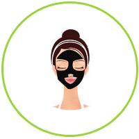 Подождите 20-25 минут. Маска подсохнет и станет эластичной. В это время активные вещества маски глубоко проникают в кожу и воздействуют на нее.