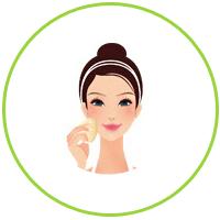 Удалите маску плавным движением руки. Остатки маски смыть теплой водой. Использовать 3 раза в неделю.