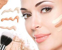 Принцип работы с основой под макияж
