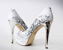 Праздничные женские туфли