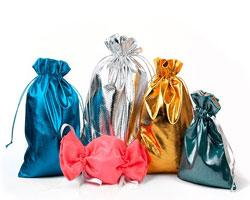 Преимущества мешочков из парчи