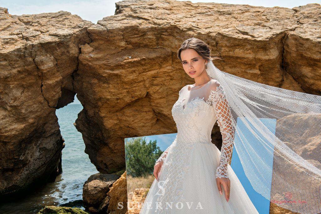 Свадебные платья в стиле бохо шик:  нежность, естественность и красота